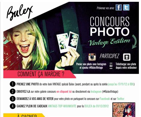 Concours Instagram Bulex