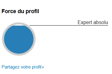 force du profil linkedin