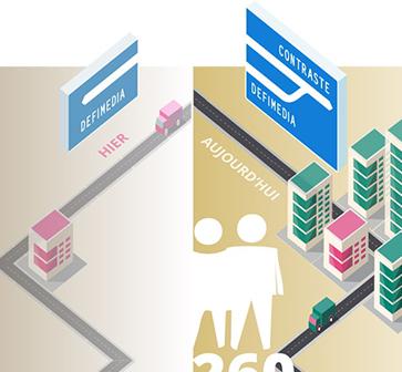 Defimedia : le nouveau pôle digital de Contraste Europe !